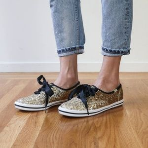 Keds for Kate Spade, Glitter Low Top Sneaker